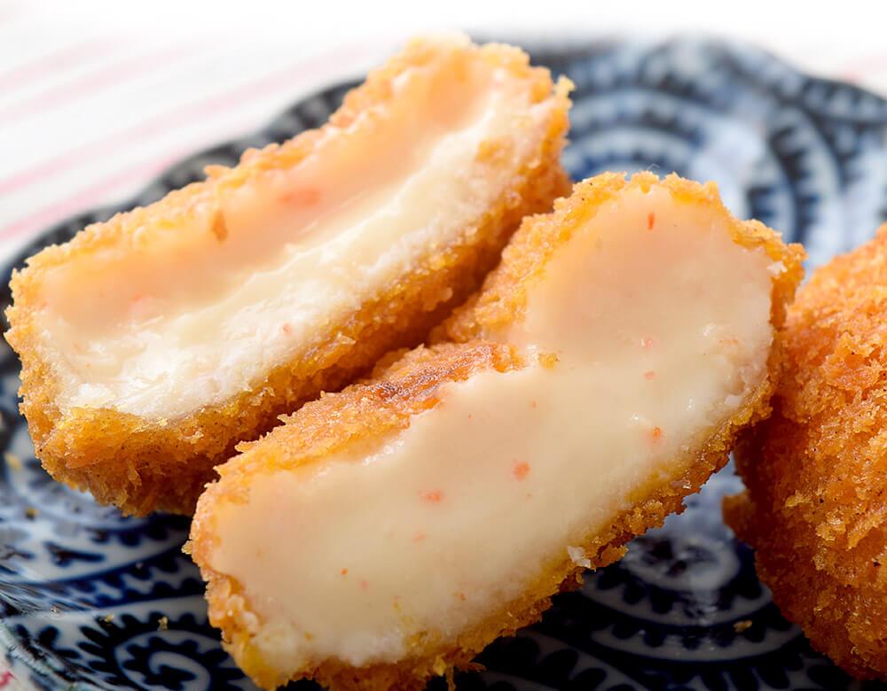 コロッケ 総菜  かに カニ とろ~り!!なめらか仕上げ 「かに屋がつくったカニのクリームコロッケ」 20個入×3袋セット 冷凍