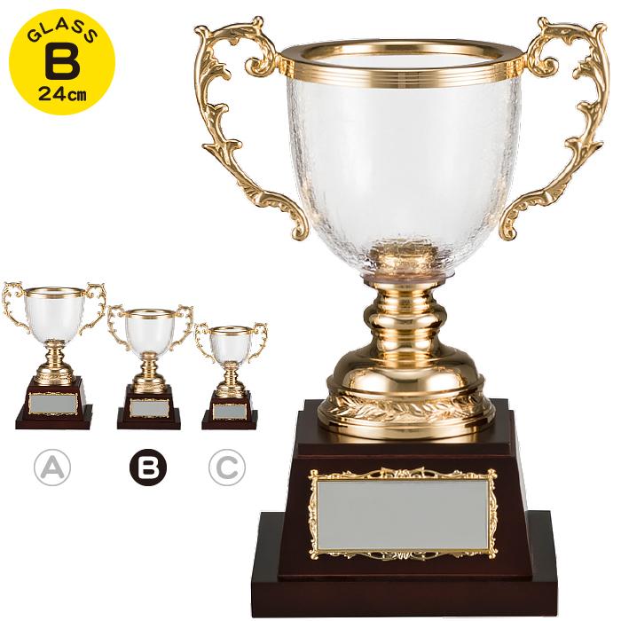 GLASS WINNING CUP 優勝 トロフィー バーゲンセール ゴルフ 野球 サッカー バスケ バレー テニス 音楽 大会 記念品 流行のアイテム ガラス製 スポーツ コンペ用品 優勝カップ 名入れ 持ち回り 運動会 ガラス カップ 景品 イベント用品 高さ24cm 賞品