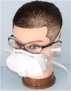 【SA-10025】N100マスクセット0.1ミクロンの危険微粒子を99.99%以上通さない高性能なマスク