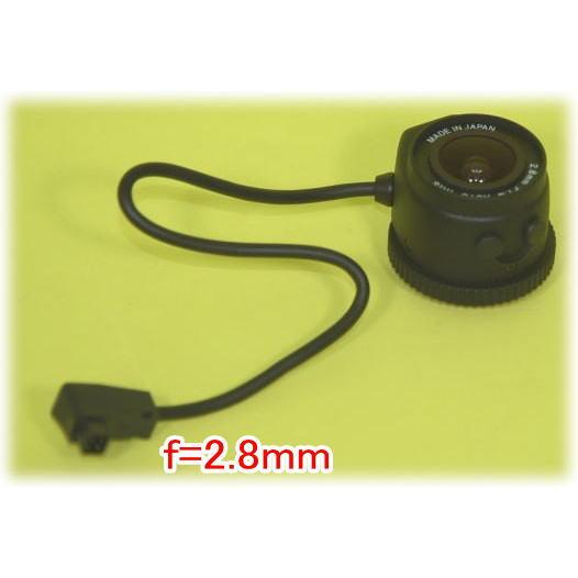 【SA-47038】 防犯カメラ・監視カメラ DCオートアイリス レンズ CSマウント L径18Фmm f=2.8mm