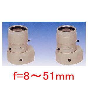 【SA-47042】防犯カメラ 監視カメラ DCオートアイリス f=8~51mm L径30.0Фmm