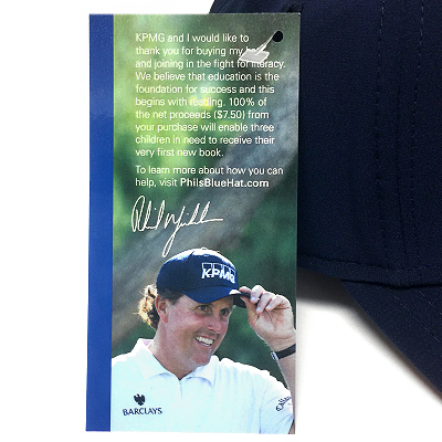 Phil Mickelson Callaway KPMG authentic tours-Hutt (blue Cap charity)  Mickelson Authentic Tour Hat 3dcebd7ae34