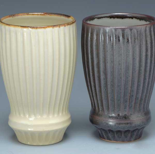 【 送料無料 】 京焼 清水焼 京 焼き 京焼き 可愛い フリーカップ 釉ソギ ゆうそぎ
