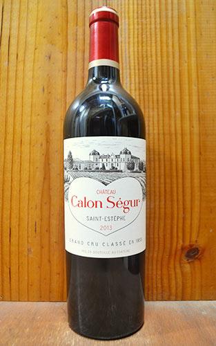 シャトー・カロン・セギュール 1991年 メドック格付第3級 750ml (フランス ボルドー サンテステフ 赤ワイン)