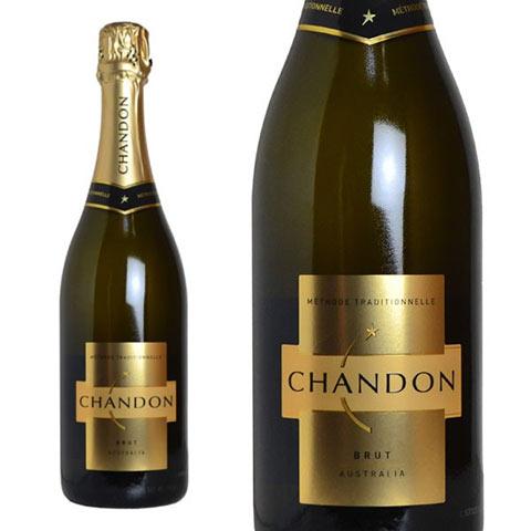 【送料無料・6本セット】シャンドン ブリュット 白 泡 N.V 正規 箱なし 750ml×6 シャンパン シャンパーニュ モエ エ シャンドンCHANDON Brut Methode Traditionelle