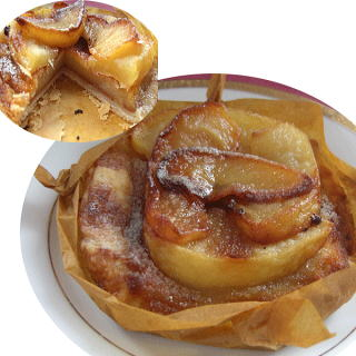 【送料無料】ケーキ屋さんが作るアップルパイ!リンゴの果肉がしっとり、パイはサクサクは旨み凝縮手作りパイ。一流ホテルが使うスチームコンベクションオーブンが秘密兵器。5個セット