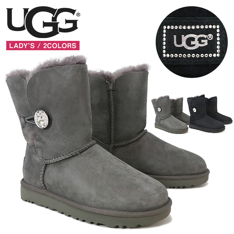 UGG アグ ブーツ レディース BAILEY BUTTON BLING ベイリー ボタン ブリング スワロフスキー 正規品 ギフト プレゼント