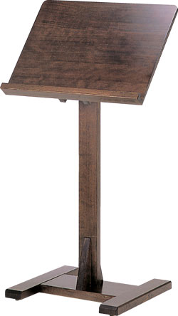 木製和風メニュースタンド(古代色)