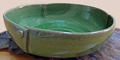 伊賀焼 ビードロ大鉢