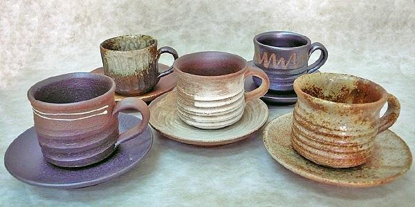 多様な 信楽焼信楽焼 コーヒー碗皿切立カップシリーズ5客組, SSマツムラ:fc86c885 --- canoncity.azurewebsites.net