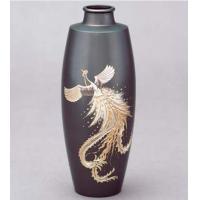 31-07 花器 細口駒型(鳳凰彫金)
