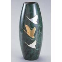 35-05 花瓶 砲型(飛躍) (鶴彫金)