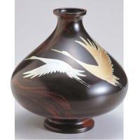35-10 花瓶 7寸高峰型(鶴彫金)