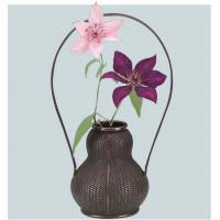 49-03 網代花器 (瓢型)