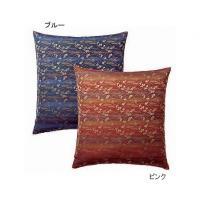 ZK22601 カラー座布団カバー 10枚組 八端判 59cm×63cm ブルー