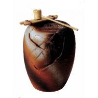 湧き水つくばい響(竹・循環式モーター付) (SS-P6090-03)火色