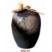 SS-P6091-01 湧き水つくばい清涼(竹・循環式モーター付)