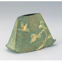 竹中銅器 83-07 銅製花瓶 あけぼの