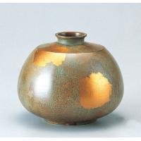 竹中銅器 85-14 銅製花瓶 平形