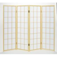 1501-3 白木障子 150cm三曲