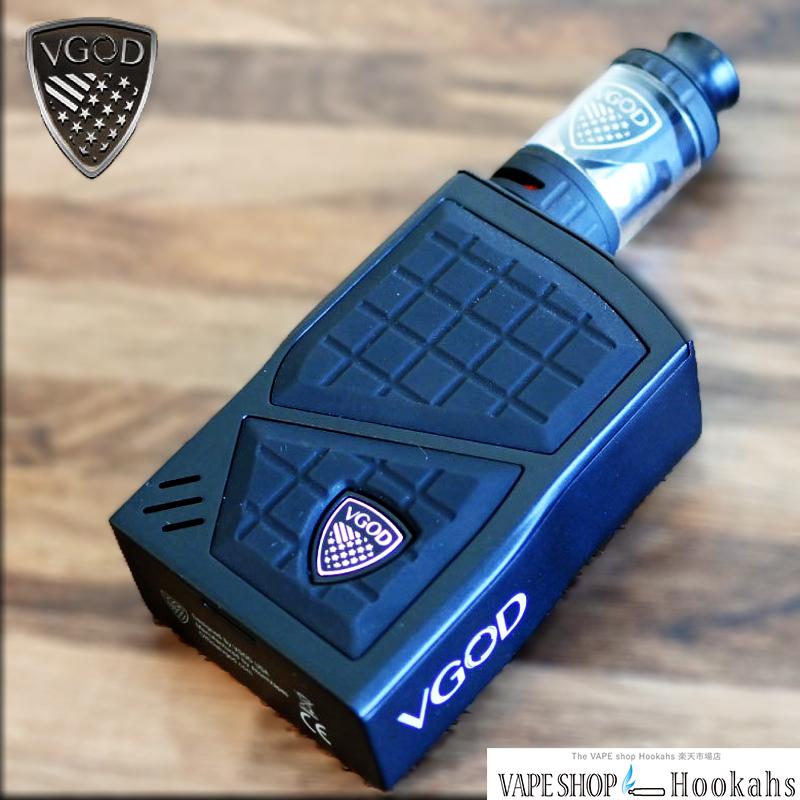 【電子タバコスターターキット】 VGOD PRO 200 TC KIT 18650×2バッテリー【VAPE】【e-cigs】【MOD】【基盤入り】