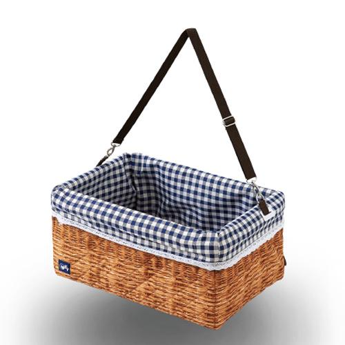ブースターボックスラタン XL 【オーエフティー】 犬 ドライブ お出かけ ペット 木製 家具