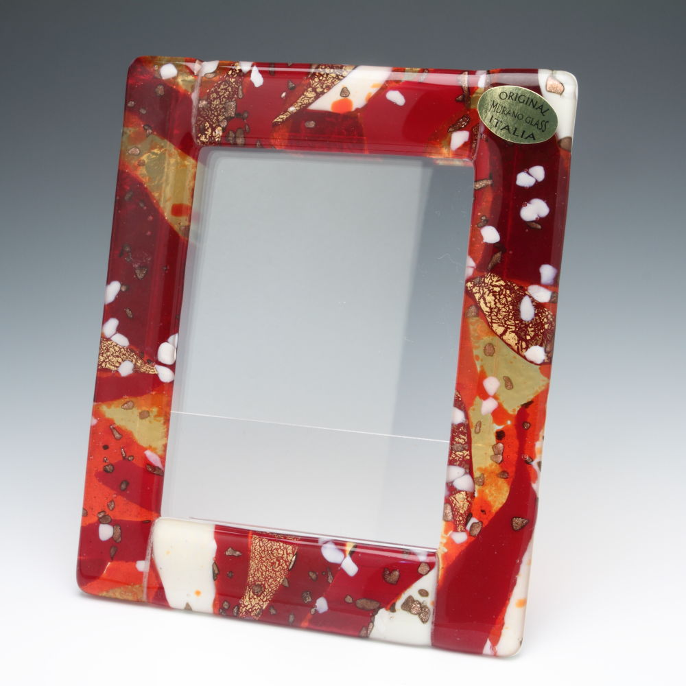 Enjoy The Venetian Gl Photo Frame Frames Graniglia Red Craftsmanship