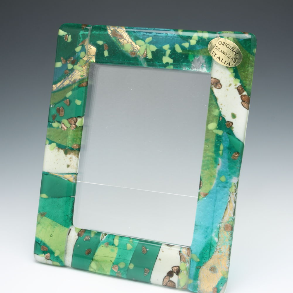 Enjoy The Venetian Gl Photo Frame Frames Graniglia Green Craftsmanship
