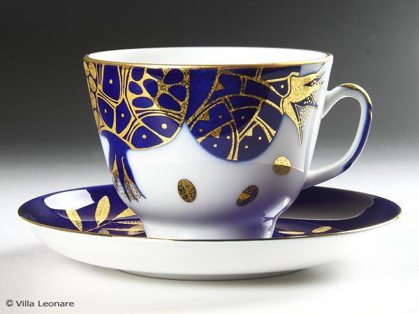 【ロモノーソフ】ゴールデン ポメグラネイト カップ&ソーサー