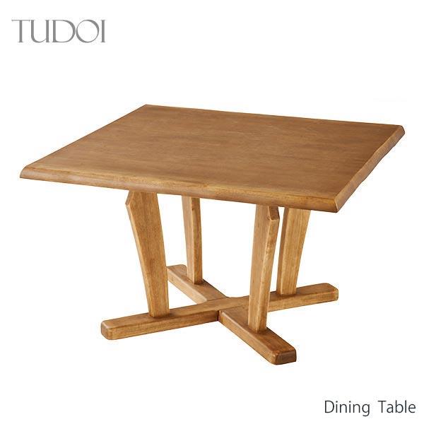 ダイニングテーブル 幅110cm 正方形 木製 和テイスト ナチュラル シンプル 集い つどい インテリア 家具 雑貨 セール 送料無料 開梱設置サービス付 ヴィヴェンティエ