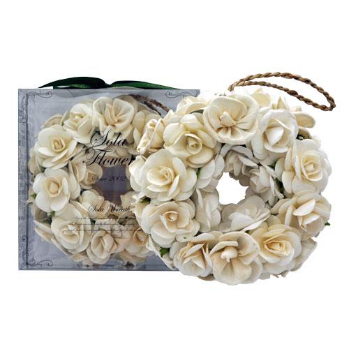 ギフト プレゼント ポプリ ブライダル 香り インテリア 信用 20132003 ソラフラワーリース ジェントルローズ Sola Flower 有名な