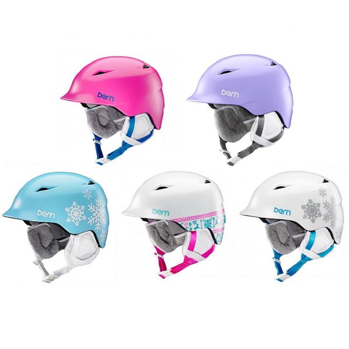 ヘルメット bern バーン CAMINA カミナ ジュニア バイク 自転車 競技用 BMX 子供用 子供 子ども 女の子 男の子 男子 女子 ブランド スポーツ ボード ストリート スポーツ スキー 冬 耳あて
