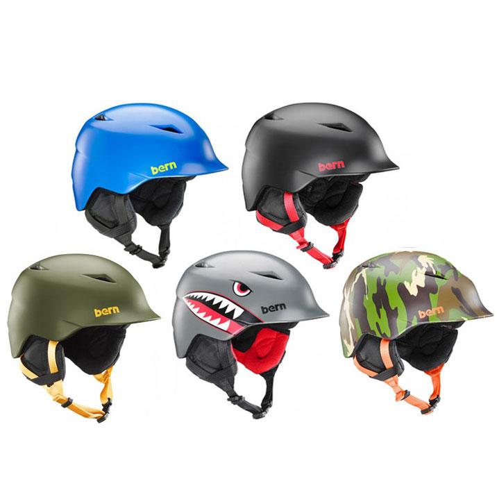 ヘルメット bern バーン CAMINO カミノ ジュニア バイク 自転車 競技用 BMX 子供用 子供 子ども 女の子 男の子 男子 女子 ブランド スポーツ ボード ストリート スポーツ スキー 冬 耳あて
