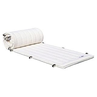 ダンノ(DANNO)体操マット(合成スポンジ)120×300サイズ D4615 体操・運動マット (白帆布)