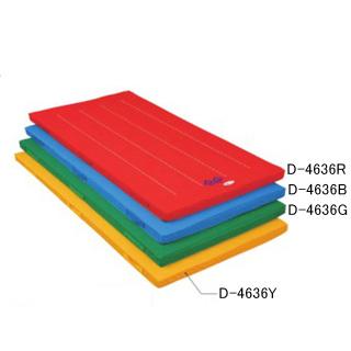 ダンノ(DANNO)カラー体操マットDX(DKすべり止め・90×240サイズ)グリーン D4636G 体操・運動マット (カラー・裏面ノンスリップ加工)