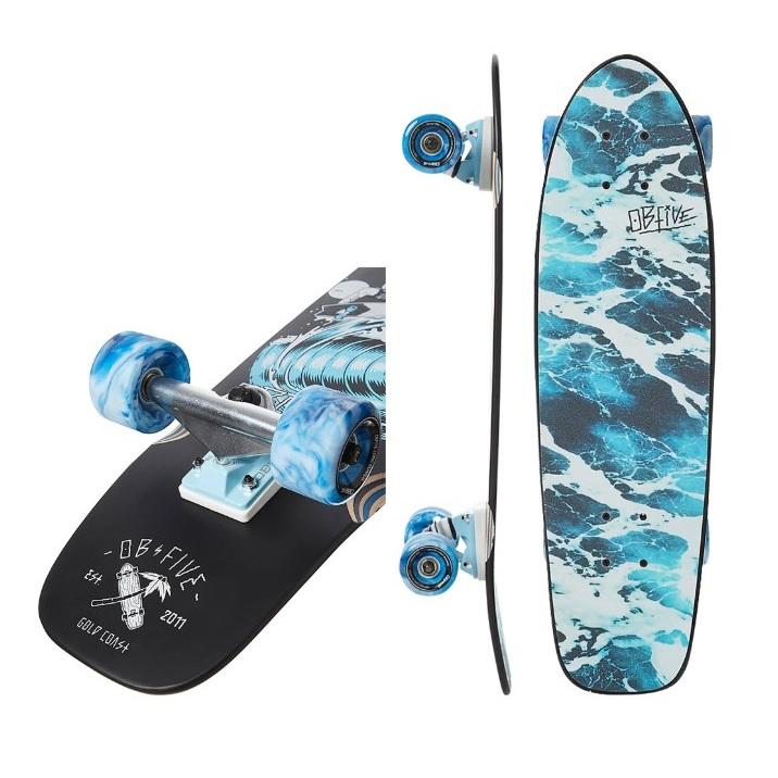 スケートボード ミニクルーザー Surf Your Skate Cruiser 28インチ 28inch クルーザーデッキ スケボー OB Five オービーファイブ サーフ デッキ ストリート パーク ロングボード カービング サーフスケート 【店頭受取対応商品】