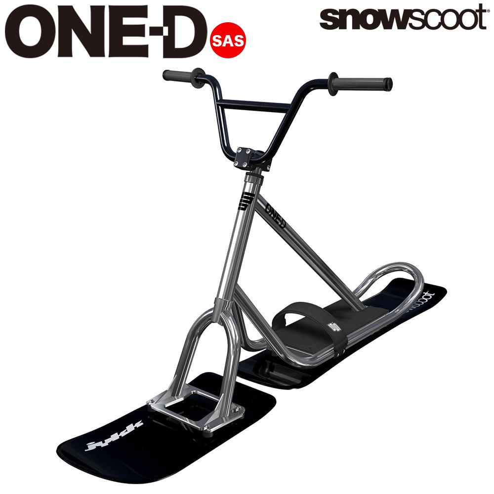 【今だけソールカバープレゼント】スノースクート SNOWSCOOT 機能重視のエントリーモデル ONE-D ワンディ ウィンタースポーツ ジックジャパン JykK Japan polish ポリッシュ