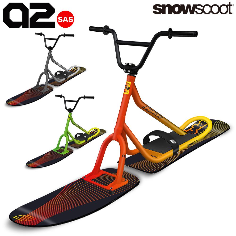 スノースクート SNOWSCOOT 全てのフィールドを楽しむ最軽量オールラウンドモデル STYLE-A2 スタイル エー ツゥー ウィンタースポーツ ジックジャパン JykK Japan