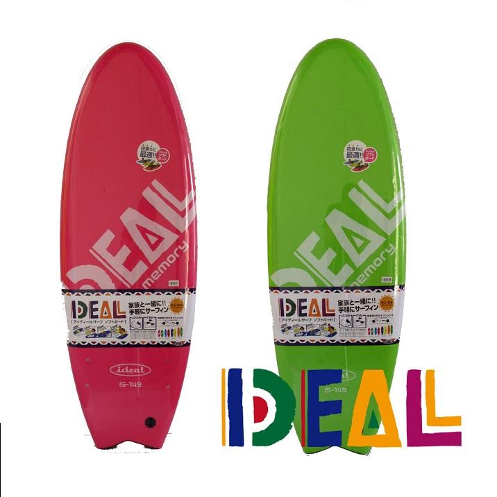 品質が完璧 IDEAL SURF SOFTBOARD 4'11