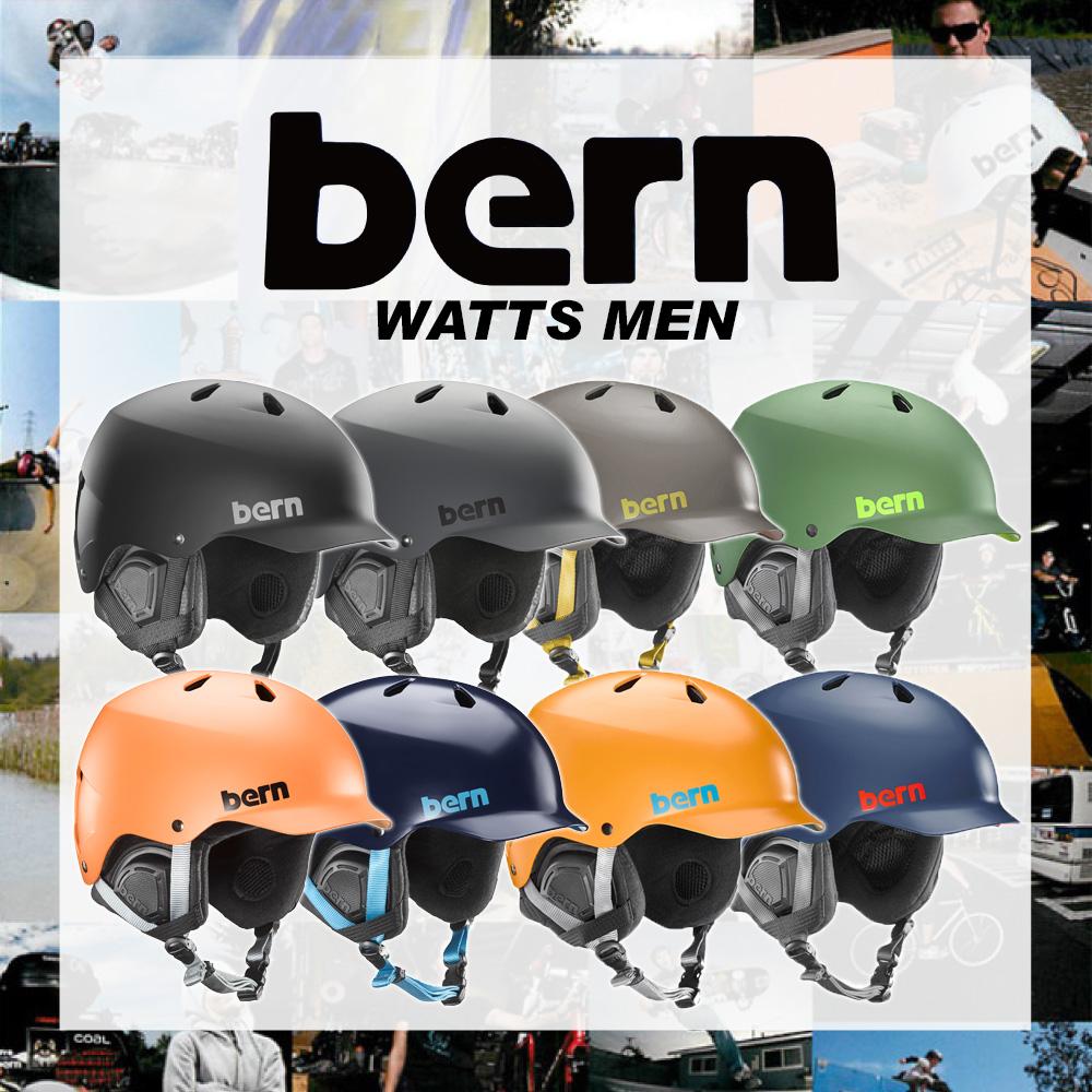 BERN (バーン) WATTS DELUXE ヘルメット メンズ ウィンター モデル HARD HAT アクションスポーツ