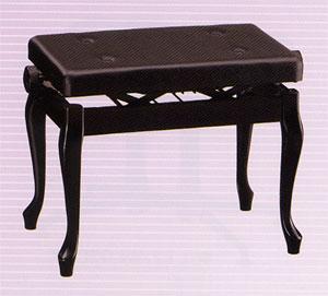 【送料込み】ピアノ椅子 AW55-C[黒塗]