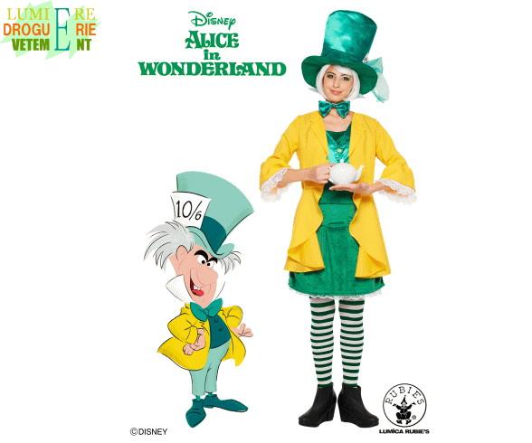 【レディ】マッドハッター【Mad Hatter】【アリス】【Alice】【不思議の国のアリス】【Disney】【ハロウィン】【コスプレ】【コスチューム】【衣装】【仮装】【集団仮装】【かわいい】
