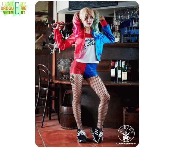 【レディ】ハーレクイン【Harley Quinn】【SUICIDE SQUAD】【ハロウィン】【コスプレ】【コスチューム】【衣装】【仮装】【かわいい】