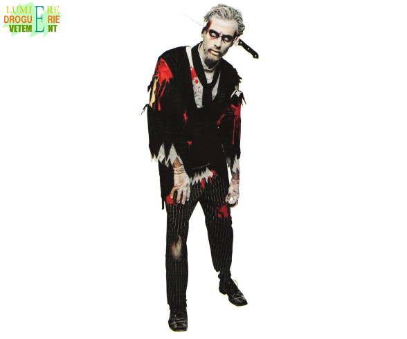 【メンズ】ブラッディバトラー【執事】【ゾンビ】【ホラー】【ハロウィン】【コスプレ】【コスチューム】【衣装】【仮装】【かわいい】