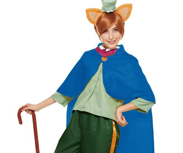 【レディ】ファウルフェロー【ピノキオ】【PINOCCHIO】【童話】【ディズニー】【Disney】【ハロウィン】【コスプレ】【コスチューム】【衣装】【仮装】【かわいい】