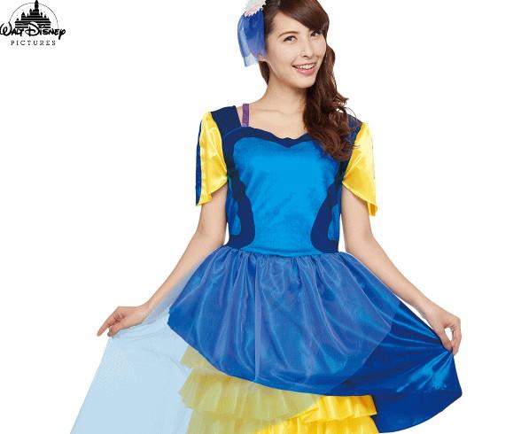 【レディ】ドレスアップドリー【ドリー】【魚】【ドレス】【熱帯魚】【ディズニー】【Disney】【ハロウィン】【コスプレ】【コスチューム】【衣装】【仮装】【かわいい】