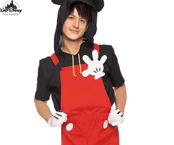 【メンズ】カジュアルポップミッキー【ミッキーマウス】【ディズニー】【Disney】【ハロウィン】【コスプレ】【コスチューム】【衣装】【仮装】【集団仮装】【かわいい】