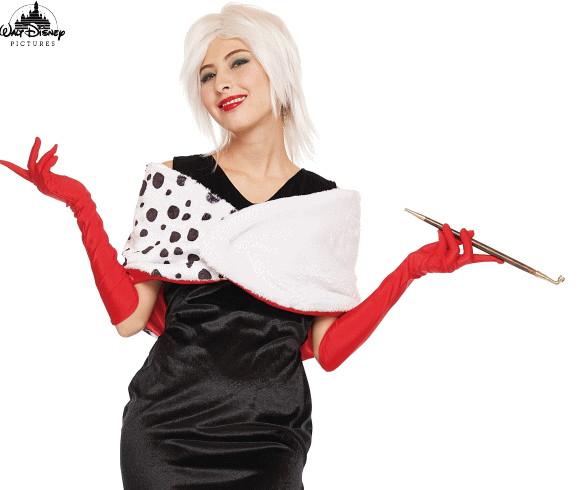 【レディ】クルエラ【101匹わんちゃん】【ヴィランズ】【ディズニー】【Disney】【ハロウィン】【コスプレ】【コスチューム】【衣装】【仮装】【集団仮装】【かわいい】
