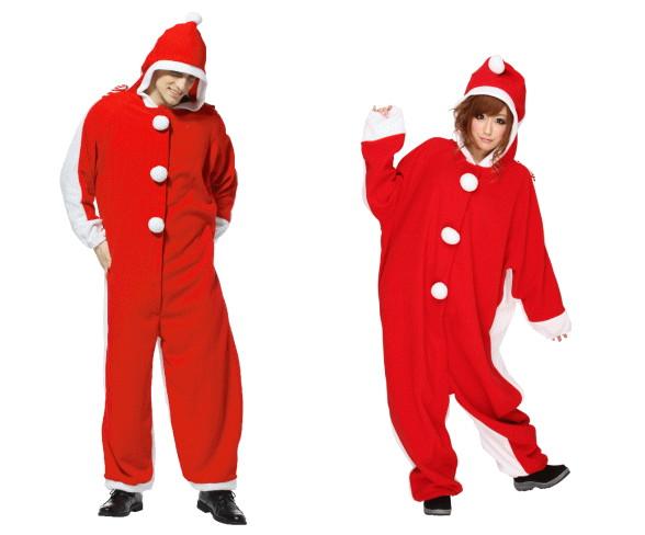 【UNISEX】サンダルマ【サンタ】【クリスマス】【コスプレ】【コスチューム】【衣装】【仮装】【パーティ】【かわいい】