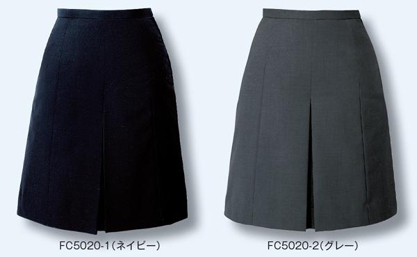 スカート ボトムス ビジネスウェア 事務服キュロットスカート FC5020 (21号・23号)フォーク (FOLK) お取寄せ